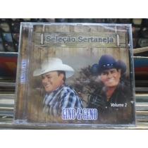 Cd Gino & Geno *seleção Sertaneja Vol.2