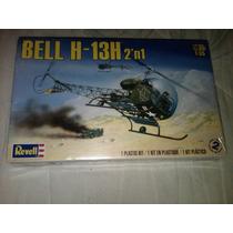 Helicoptero Bell H-13h 2n1 Esc.1/35 Revell Italeri Esci Amt