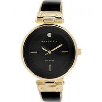 Reloj De Mujer Anne Klein Women Ak / 1414bkgb Diamond
