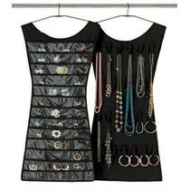 Porta Joias Relogio Organizador Bijuteria Vestido Cabide Lux