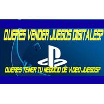 Como Vender Juegos Digitales De Ps3 Y Ps4 - Envio Inmediato