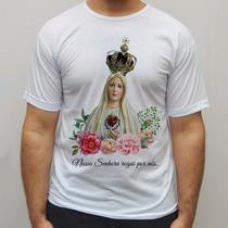 Blusa Nossa Senhora Católica Religiosa Camisa Blusa Regata