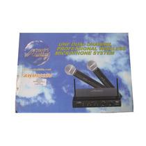 Kit Sistema Microfono Inalambrico Audio2000 Awm-6032u