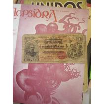 Billete Republica Argentina Corrientes 1888 Serie 015 1 Peso