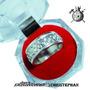 Anillo De Matrimonio Plata Ley 925 En Alto Relieve Infinito