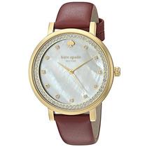 Reloj Kate Spade Monterey Acero Piel Mujer Ksw1170