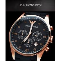 Relógio Empório Armani Ar5905 Original Na Caixa Sedex Grátis
