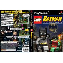 Lego Batman Robin Em Portugues - Playstation 2 - Aventura -