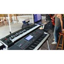Pa 50 Sd+controlador+stante+bag+ritmos+notbook+sampler+placa