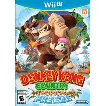 Donkey Kong Country Tropical Freeze Wii U 100% Original