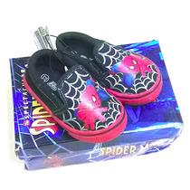 Calzados Zapatos Infantiles De Spider Man Marca