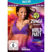 Jogo Zumba Fitness World Party Nintendo Wii U Novo + Cinto