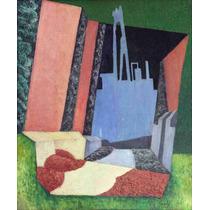 Lienzo Tela Paisaje Urbano Diego Rivera Año 1916 60 X 50 Cm