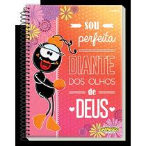 Caderno Universitário Capa Dura 200fls 10mat Smilinguido