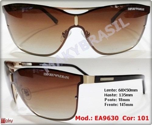 Óculos De Sol Armani Ea9630 Mascara Masculino Feminino - R  152,11 em  Mercado Livre bd6fa7ed5c