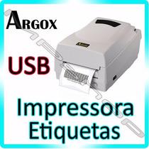 Impressora Térmica De Etiquetas E Barras - Argox Os 214 Plus
