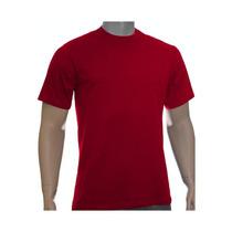 Kit 20 Camisetas Básicas Fio 30/1 Penteado Cores Variadas