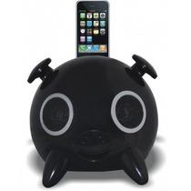 Dock Station Ipig Preto+adaptador Bluetooth+adaptador Iphone