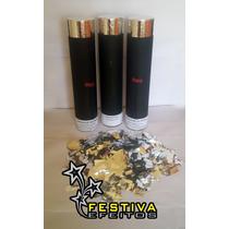 Lança Papel Picado Glitter Tubo Canhão Para Shows E Eventos