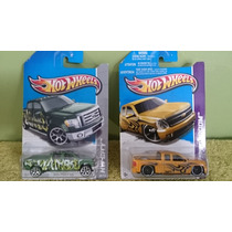 Lote 2 Pick Up, Hot Wheels
