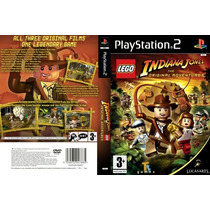 Jogo Lego Indiana Jones Ps2 Exclusivo - Confira!