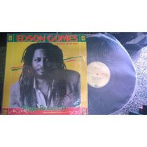 Disco De Vinil/lp - Edson Gomes - Reggae Resistência