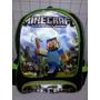 Mochila Minecraft Costas Escolar Pronta Entrega