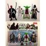 Coleção 4 Miniaturas Bonecos Personagens Filme Star Wars