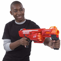 Nerf Mega Rotofury Dardos Arma Brinquedo B1269 Hasbro
