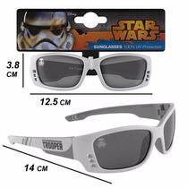 Anteojos Lentes Sol Ski Niños/as 3 + Star Wars Stormtrooper