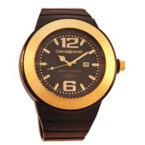 Reloj Chronosport New Happy Negro/dorado Tienda Oficial