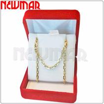 Cadena Oro 18 Kts Para Hombre Forcet 6.5grs 60cm+gtia-ca3564