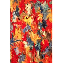 Cuadro De Jasper Johns Impreso En Canvas S/ Bastidor 80x120