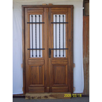 Puertas antiguas madera aberturas puertas madera de for Puertas dobles antiguas
