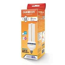 Lampada Fluorescente Compacta Economica 45 Watts Ourolux