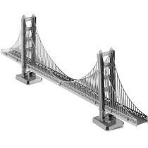 Rompecabezas Metalico 3d Puente Golden Gate - Fascinations