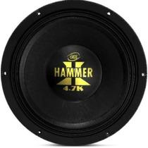 Alto Falante Woofer Eros E12 Hammer 4.7k 12 Pol 2.350w Rms
