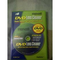 Cd Limpiador Lentes Dvd Interactivo.