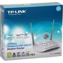 Modem Roteador Adsl2 Wireless N 300mbps Tp-link Td-w8968 Usb