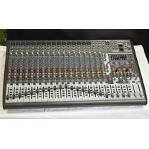 Consola Beringher 24 Canales Eurodesk X2442fx Como Nueva!