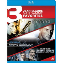 Blu-ray Coleção Van Damme - 3 Filmes