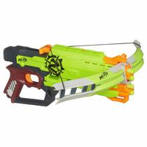 Nerf Ballesta De Dardos Zombie Strike Crossfire Bow Blaster