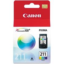 Cartucho De Tinta De Color Canon Cl-211 Para Pixma Mp240 Y M