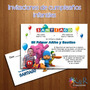 Tarjetas Invitaciones Cumpleaños Infantil Babyshower Bautizo