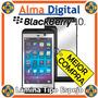 Lamina Protector Pantalla Espejo Blackberry Z10 Bb Mirror