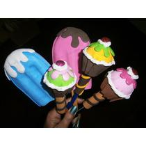 Boligrafo O Lapiz Decorado.ponquecito-cupcake Recuerdo Foami