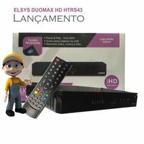Receptor Elsys Duomax Lançamento Etrs43 Hd Anadigi