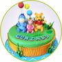 Torta Personalizada 1 Piso Toda Ocasión Decorados Especiales