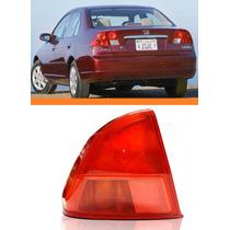 Lanterna Traseira Honda Civic 2001 2002 Canto Lado Esquerdo
