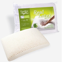 Travesseiro Real Látex Natural Duoflex 50x70x16cm - Ls1100